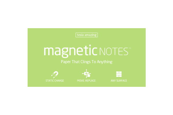 TESLA AMAZING Magnetic Notes L 200x100mm 117 mint 100 Blatt