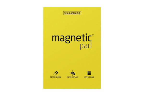 TESLA AM. Magnetic Pad A3 41 yellow 50 Blatt