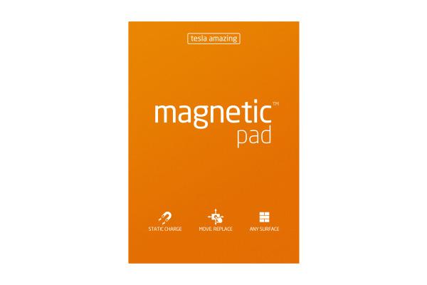 TESLA AM. Magnetic Pad A3 44 orange 50 Blatt