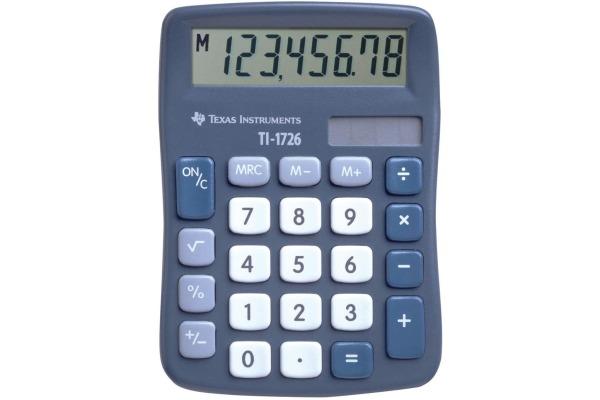 TEXAS INSTRUMENTS Grundrechner TI-1726 8-stellig