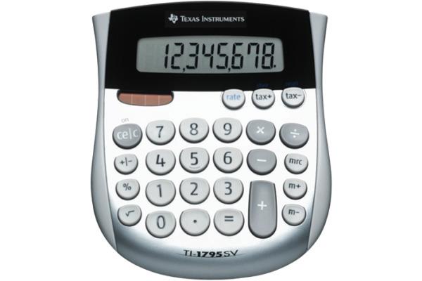 TEXAS INSTRUMENTS Grundrechner TI-1795SV 8-stellig