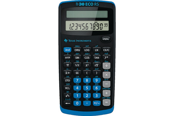 TEXAS INSTRUMENTS Rechner Schule TI-30 eco RS RS