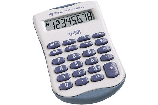 TEXAS INSTRUMENTS Grundrechner TI-501 8-stellig