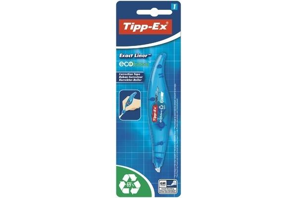 TIPP-EX Korrekturroller Exactliner 868.0772 ECOlution,...