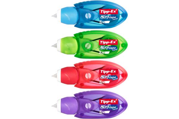 TIPP-EX Microtape Twist 8mx5mm 8794311 Blister 2...