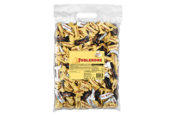 TOBLERONE Tiny Mix 2 x 2.4Kg 9603 300 Stück/2 Beutel