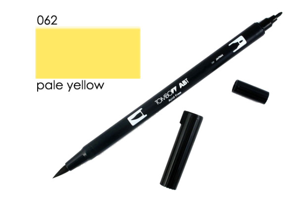 TOMBOW Dual Brush Pen ABT 062 pale yellow
