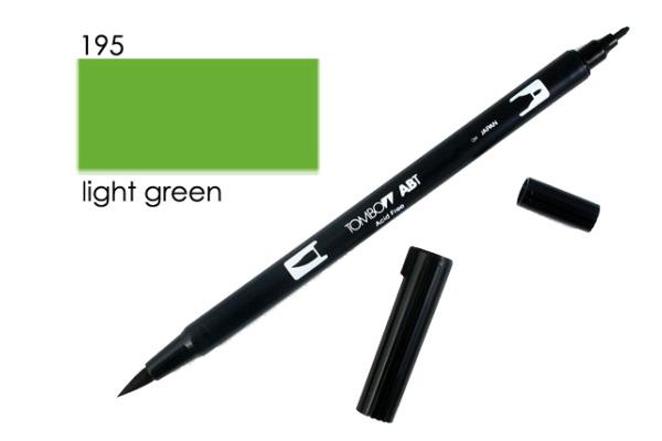 TOMBOW Dual Brush Pen ABT 195 hellgrün
