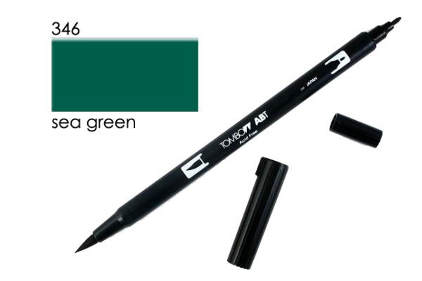 TOMBOW Dual Brush Pen ABT 346 meergrün