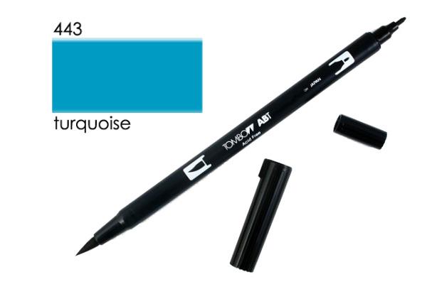 TOMBOW Dual Brush Pen ABT 443 türkis