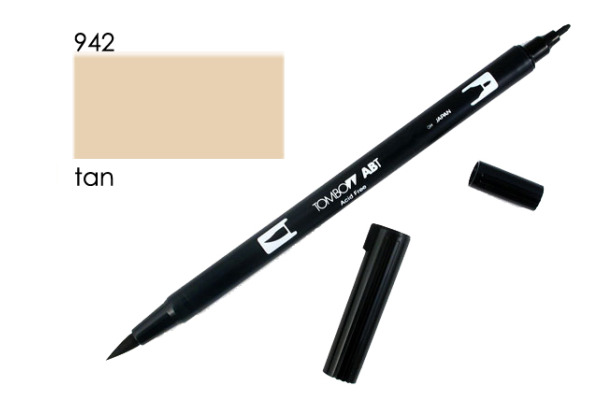 TOMBOW Dual Brush Pen ABT 942 hautfarben