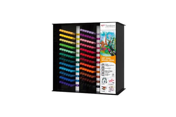 TOMBOW Fasermaler ABT Brush Pen ABT24CSET Display 24 Farben à 6 Stk.