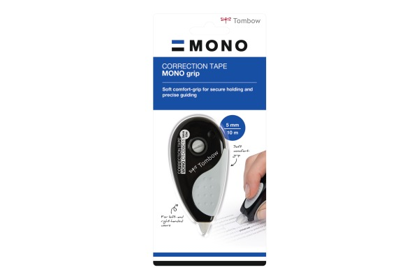 TOMBOW Korreturroller Mono CT-CD5C11 5mmx10m schwarz grau