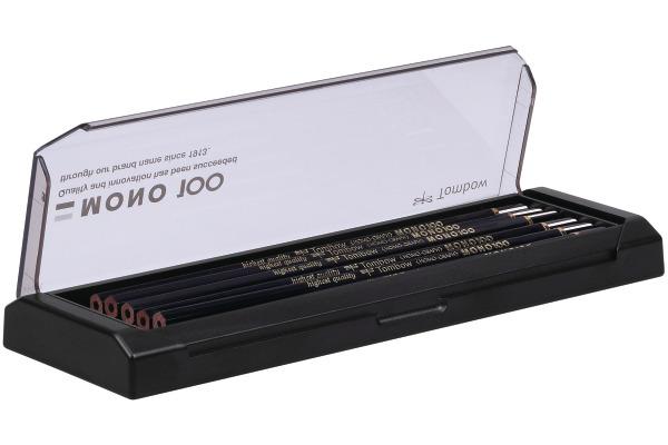TOMBOW Bleistift MONO 100 2B MONO-100-2B 12 Stück, Acrylbox