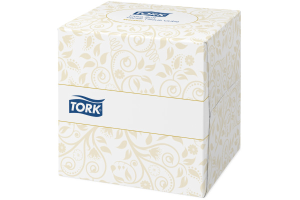 TORK Kosmetiktücher 140278 weiss, 2-lagig 100 Blatt