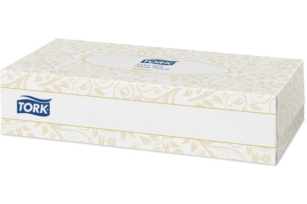 TORK Kosmetiktücher F1 140280 weiss, 2-lagig 100 Blatt