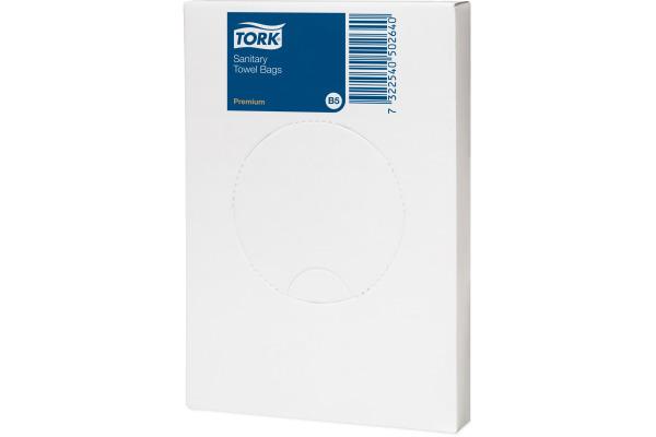 TORK Hygienebeutel Premium B5 204041 HDPE, transparent 25...