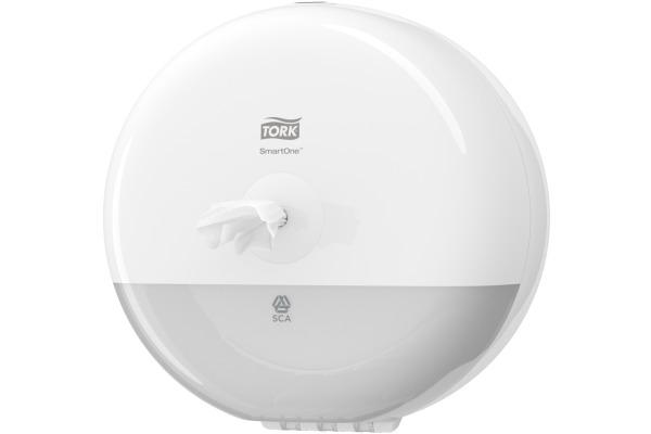 TORK Toilettenpapier Spender T9 681000 weiss 219x219x156mm