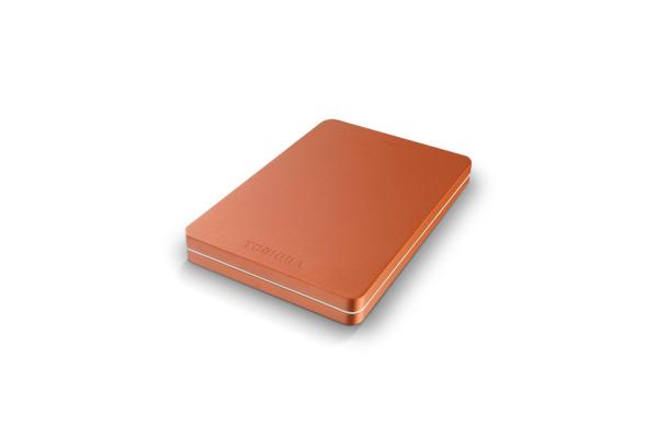 TOSHIBA CANVIO ALU 1TB HDTH310ER3AB USB 3.0 2.5 inch red