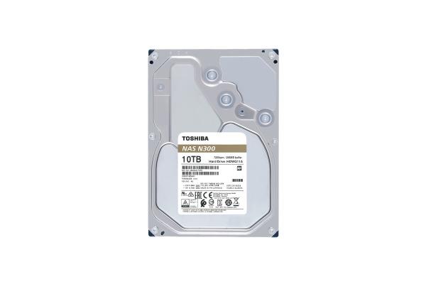 TOSHIBA HDD N300 High Reliability 10TB HDWG11AUZ internal, SATA 3.5 inch BULK