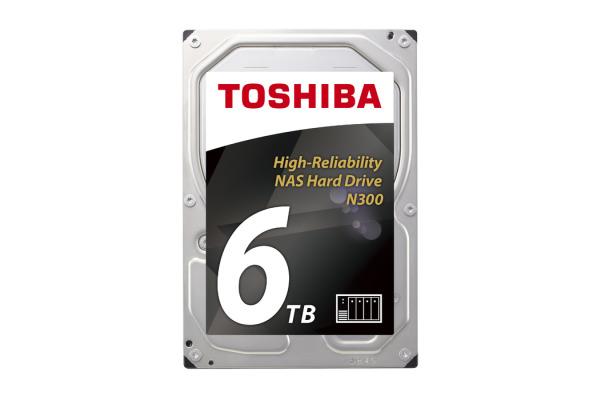 TOSHIBA HDD N300 High Reliability 6TB HDWN160UZ internal, SATA 3.5 inch BULK