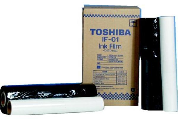 TOSHIBA Thermo-Transferband schwarz IF-01 Fax TF 511, Band IF01 2 Stck.