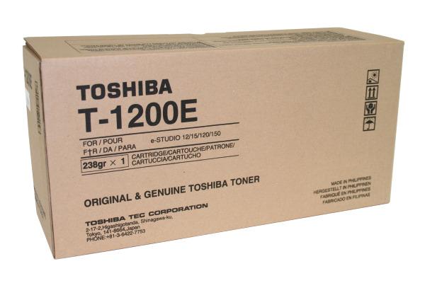 TOSHIBA Toner schwarz T-1200 E-Studio 12/15 6500 Seiten