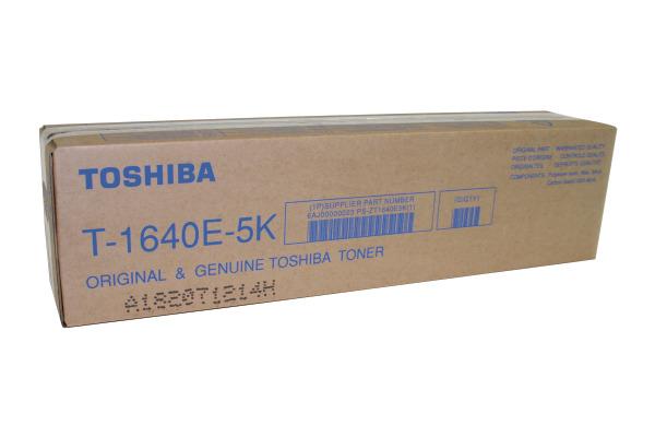 TOSHIBA Toner schwarz T-1640E5K E-Studio 163/200/203 5000 S.