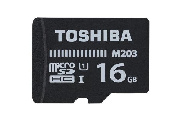TOSHIBA Micro SDXC Exceria M203 16GB THN-M203K EA with Adapter