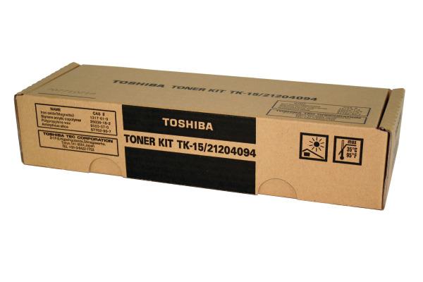 TOSHIBA Toner schwarz TK-15 DP-120F