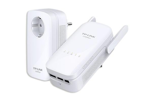TP-LINK Power Line WLAN Kit AV1200 TL-WPA8630P KIT(CH)