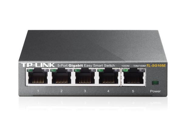 TP-LINK 5-Port Gigabit Smart Switch TLSG105E