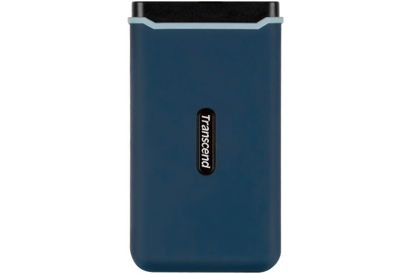 TRANSCEND ESD350C External SSD 480GB TS480GESD blue, USB-C, incl. Cables