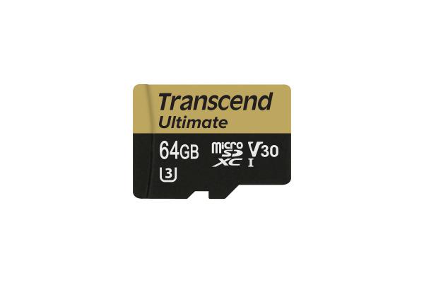 TRANSCEND microSDXC /U3M (Ultimate) TS64GUSDU UHS-I, U3M / for Actioncams
