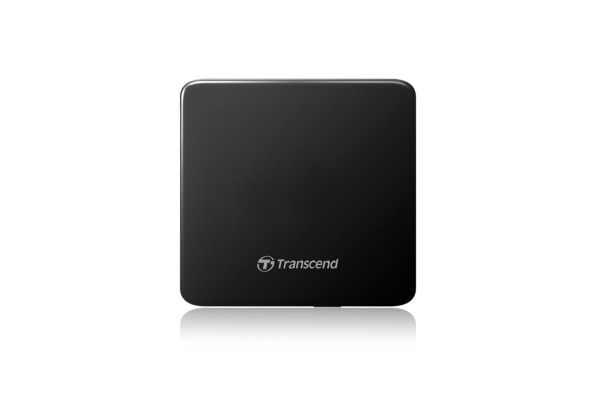 TRANSCEND Portable CD/DVD Writer 8x TS8XDVDSK SuperSlim USB 2.0 black