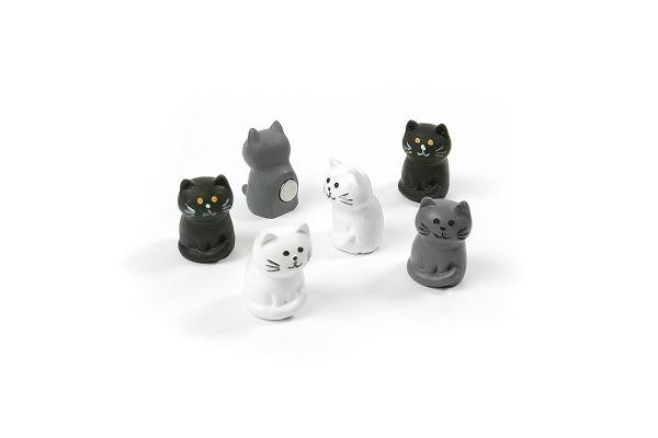 TRENDFORM Magnete CAT FA4618 6er Set assortiert