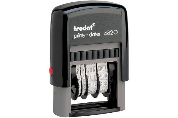TRODAT Datumstempel F 4820F-EK-SC 4mm