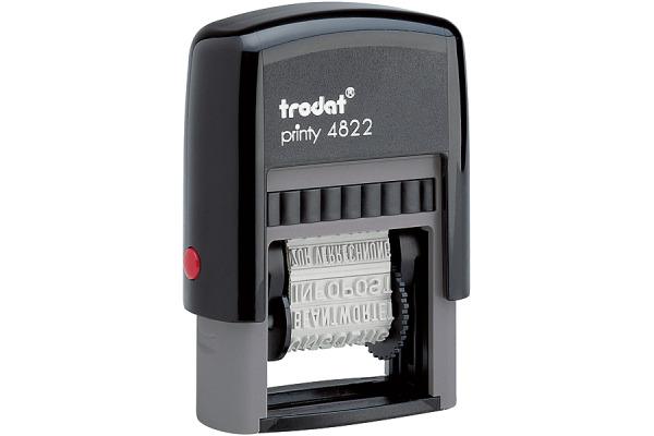 TRODAT Mehrtextstempel 4822D-EK-SC 4mm D