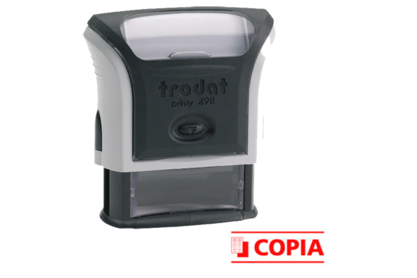 TRODAT Stempel COPIA 4911COPIA-EK-RO rot Italienisch