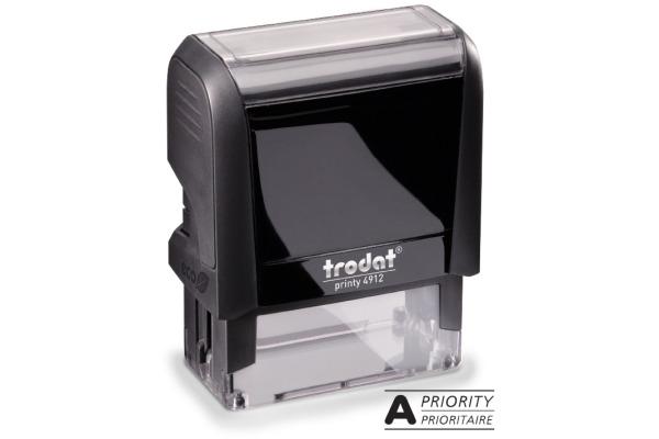 TRODAT Stempel Prioritaire 4912APRIO schwarz 47x18mm