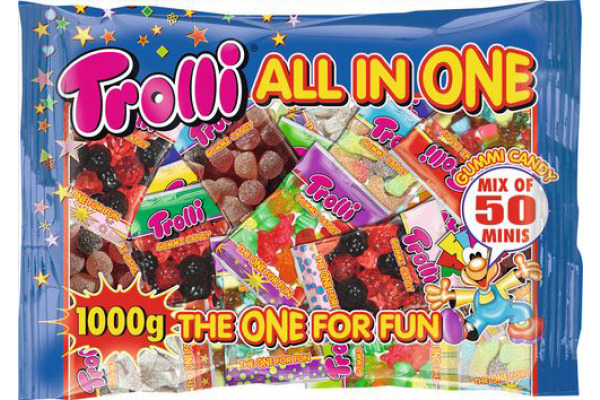TROLLI All in one Candy 7431 50x20g