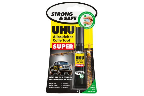 UHU Alleskleber Super Strong+Safe 46960 transparent,...