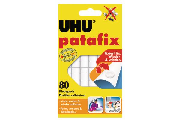 UHU Patafix Klebepads 9.5x17mm 48810 weiss, non-permanent...