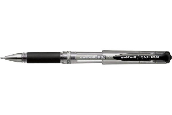 UNI-BALL Signo Broad 1mm UM-153 BLACK schwarz
