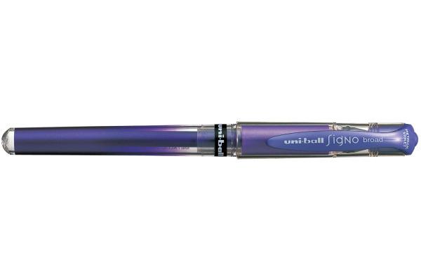 UNI-BALL Signo Broad 1mm UM-153MET violett-metallic