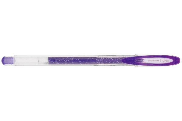 UNI-BALL Signo Sparkling 1mm UM120SPVIOLE violett