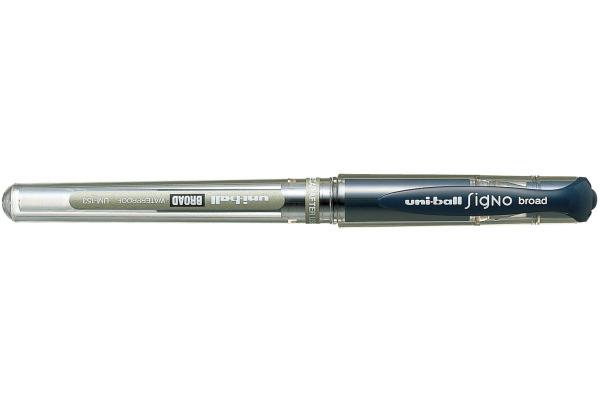 UNI-BALL Signo Broad 1mm UM153BLUEBLA blau-schwarz