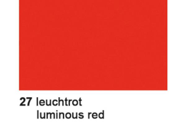 URSUS Plakatkarton 48x68cm 1002527 380g, rot