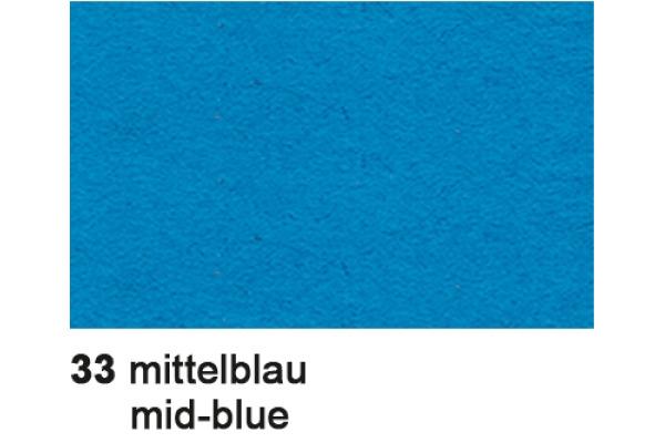 URSUS Plakatkarton 48x68cm 1002533 380g, blau