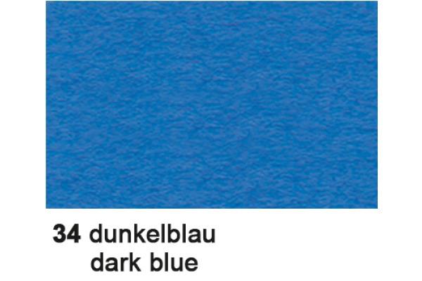 URSUS Plakatkarton 48x68cm 1002534 380g, blau